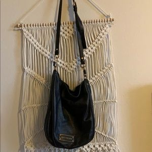 """Black Marc Jacobs leather """"take your Marc"""" bag"""